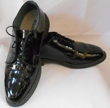 Bates Uniform Footwear Mens Size 12 Polished Lites Black Hi Gloss Oxfords