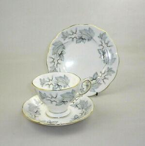 Vintage Royal Albert China Trio - Silver Maple