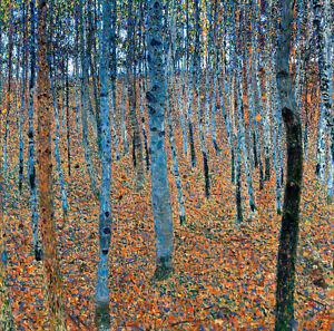 Beech Grove I A1+ by Gustav Klimt High Quality Canvas Art Print