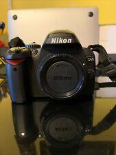 Nikon D D40 6.1MP Digital SLR Camera - Black (Kit w/ 3 lenses, Bag, Filters)
