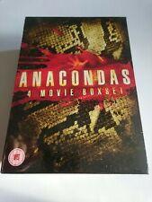 Anacondas 4 Movie Boxset (2009, DVD)