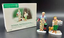 Department 56, Christmas in City City Professions House Painter & Newspaper Boy
