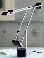 MILANO ARTEMIDE SPA TIZIO R. SAPPER LAMP MADE IN ITALY BLACK