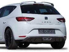 Heckdiffusor Carbon Look mit Mittelauspuffoptik JE Design Seat Leon 5F