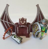 Playmobil Green Dragon Knights Catapult Figure Light Up Bow Spare Replacement