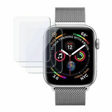 3Pcs 9H Tempered Glass / TPU Screen Protector For iWatch Apple Watch 4 40mm 44mm