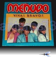 MENUDO RICKY MARTIN RARE LP ITALIAN SUNG- CLAUDIO VILLA