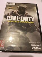 🤩 jeu video pc dvd cd rom neuf blister fr call of duty infinite warfare zombie
