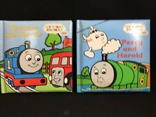 Vtg 1997 Thomas The Tank Engine & Friends MY FIRST THOMAS Books Hard Page Baby