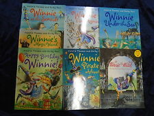* 7 EXCITING WINNIE THE WITCH BOOKS by KORKY PAUL * UK POST £3.25* PAPERBACKS*