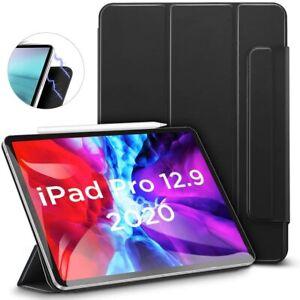 "ESR Rebound Magnetic Trifold Smart Case - iPad Pro 12.9"" 2018 and 2020 Black"