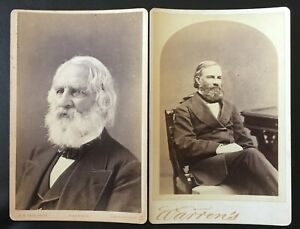 HENRY WADSWORTH LONGFELLOW & BROTHER SAMUEL LONGFELLOW