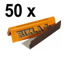 50 Booklets of Rizla Liquorice Rolling Cigarette Papers Free P&P Only £13.49