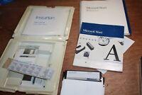 VTG Microsoft Word Version 4.0 for IBM PC Series Software + Manual