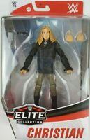 WWE Christian Action Figure Mattel Elite Series 76 Black shirt chase variant