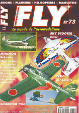 FLY N°73 PLAN : FLY TOX / SKY SCOOTER / MINIMOA BOHEMIA / SOARSTAR T2M / ZERO