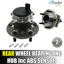 Ford Focus C-MAX  2003-2011 Rear Hub Wheel Bearing Kit Inc Abs Sensor C MAX CMAX
