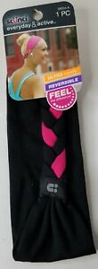 Scunci Everyday & Active Reversible Thick Braided Headband #39534-A