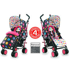 NEW COSATTO LOLZ 2018 SUPA PUSHCHAIR STROLLER BABY BUGGY & RAINCOVER FROM BIRTH
