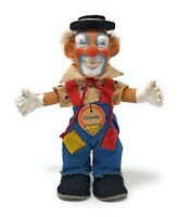 Steiff Clown CLOWNIE ca. 12 cm, mit Schild, ohne Knopf und Fahne, guter Zustand