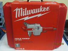 "Milwaukee 1676-6 120V Ac 1/2"" Hole-Hawg Drill 300/1200 Rpm with Carrying Case"