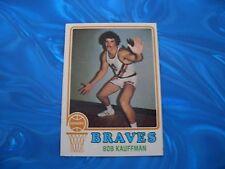 1973-74 Topps Basketball Card #116 Bob Kauffman EX-MT/NM