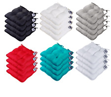 Soft Chair Seat Cushions With Tie on Dinning Room Kitchen Indoor Outdoor Garden