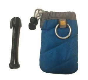 Case Logic UP-2 Universal Pockets Medium Blue Plus Mini Compact Tabletop Tripod