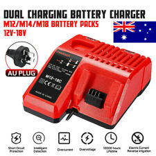 Milwaukee M18 12V-18V Multi Voltage Rapid Battery Charger Dual M12-18C - Replace