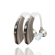 Britzgo Hearing Amplifier - Aids in Hearing - BHA-220S - 500 Hour Battery-2 Pack