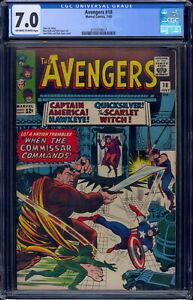 Avengers #18 CGC 7.0 Off-W/White 2131518017