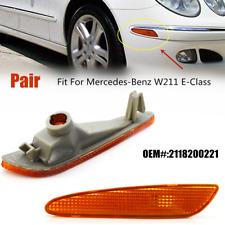 Fits Mercedes-Benz W211 E-Class Genuine Side Marker In Bumper Turn Signal Light