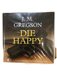 J. M. Gregson - Die Happy -   Unabridged audiobook on 8CD Andrew Wincott