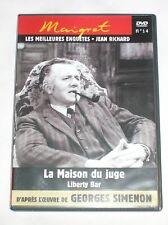 DVD MAIGRET N° 14 / SIMENON / JEAN RICHARD / TRES BON ETAT