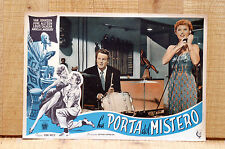 LA PORTA DEL MISTERO fotobusta poster Van Johnson Remains to Be Seen 1954 J88