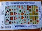 Microscale Decal HO  87-422 Signs-Commercial Water Slide Decal Sheet