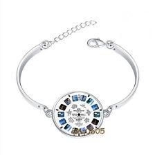 ViewMaster Lens Bracelet Photo Glass Cabochon Tibet silver Bracelets
