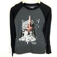 (S1-03) Star Wars Men's Small T-shirt The Force Awakens Kylo Ren Storm Troopers