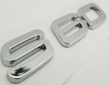 S60 LETTERS REAR TRUNK EMBLEM BACK BADGE NAMEPLATE LETTERS NUMBERS FIT VOLVO