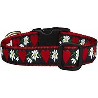 Up Country Hearts And Flowers Collar M
