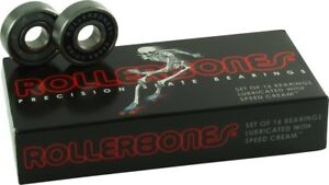 Bones Roller Bones Bearings for Roller Skates and Rollerblades (16 Bearings) NEW
