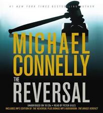 New Audio Book Sealed in Plastic The Reversal by Michael Connelly Abridged CDs