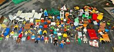 Large Lot of Vintage Playmobil 30+ People, Boats,  Hospital Equipment, More!