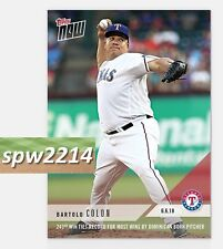 2018 Topps Now Bartolo Colon #294 - 243rd Win Ties Most Dominican Born Pitcher