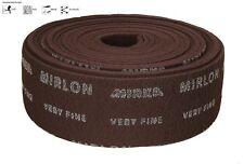 Mirka mirlon fibra para lijar veryfine vf360 Rojo 10 metros RUEDA 115mm x 10m