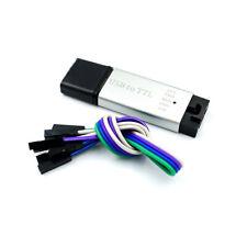 Aluminum shell USB 2.0 to TTL UART 5PIN Module Serial Converter CP2102 STC PRGMR