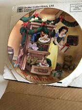 Disney Christmas 1994 Christmas Dreams  Plate Snow White NIB