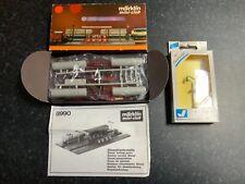 More details for marklin spur z scale/gauge diesel filling station kit + yard light.