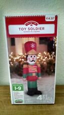 Airblown Inflatable Toy Soldier 4 Foot Tall by Gemmy Industries