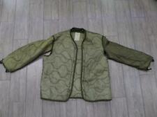 1981 vintage m65 LINER coat cold weather MEDIUM field jacket green